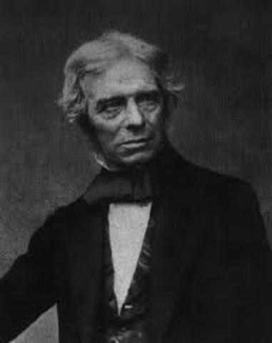 Michael Faraday makes his discovery