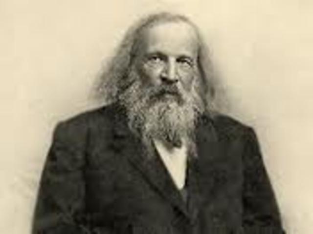Dmitri Mendeleev makes his discovery