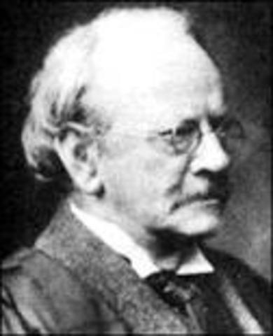 JJ Thomson is born in 1856