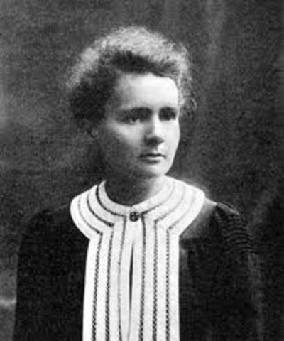 Marie Curie is born in 1867