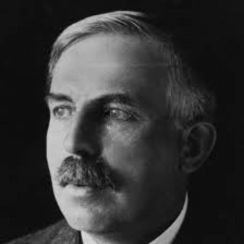 Ernest Rutherford makes his discovery