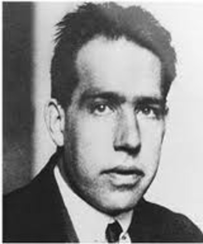 Niels Bohr is born in 1885