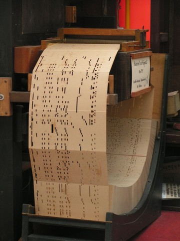 En 1801 Evoluciopnancon targetas perforadas