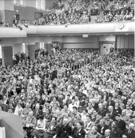 primer congreso en Bogotá