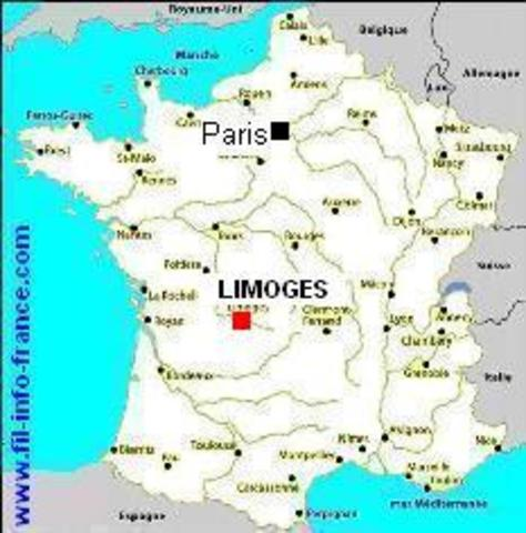 Family moves to Limoges