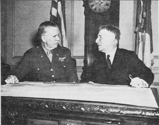 Henry Stimson planning an all Japanese combat force