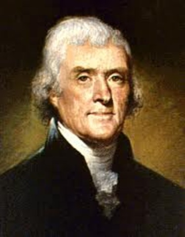 Thomas Jefferson Elected 2nd Term