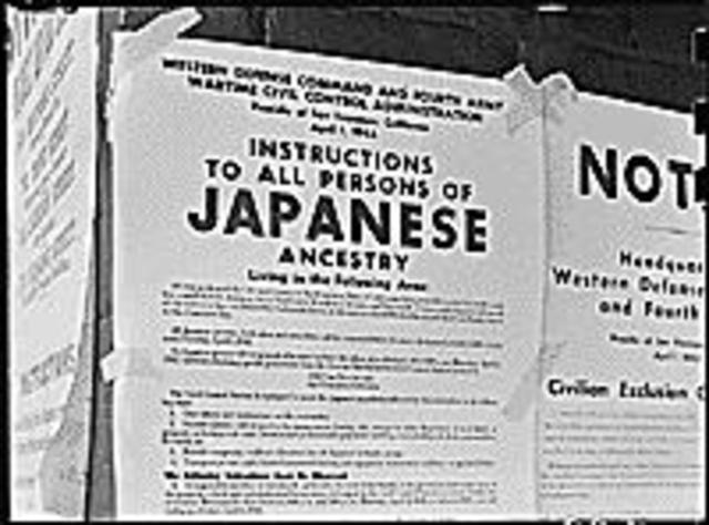 President Roosevelt Angers Japanese Americans