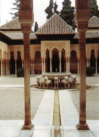 Palace of the Lions/Alhambra (Granada, Spain)