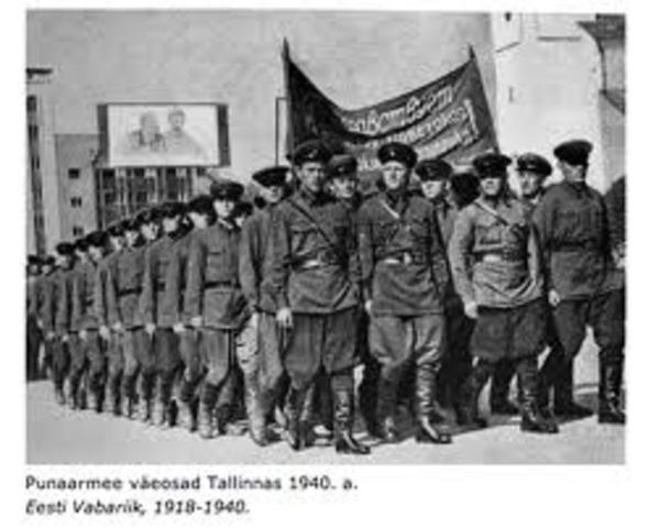 Eesti okupeeritake Punaarmee poolt