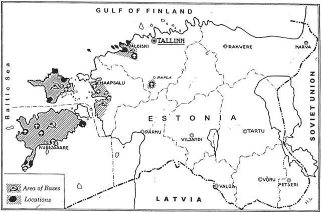Kirjutatakse alla Baaside lepingule NSVL-ga