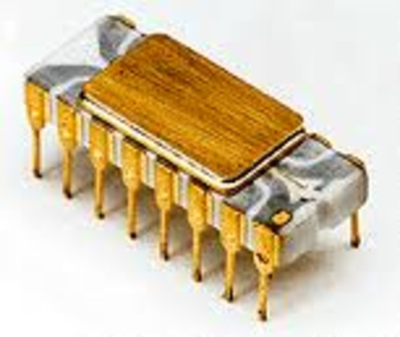 First Microprocessor