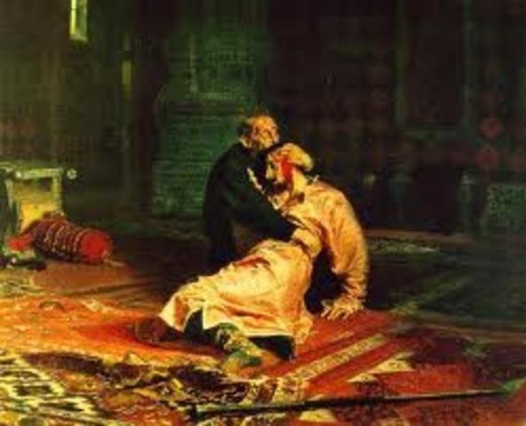 Ivan the Terrible kills his son