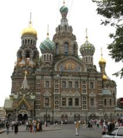 St petersberg is founded