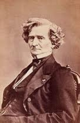 Les francs-juges was the first song that he composed.