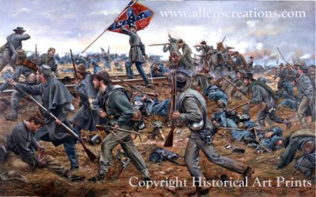 End of the battle of fredericksburg