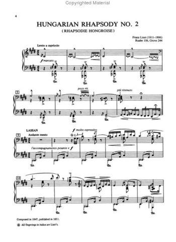 Hungarian Rhapsody no.2.