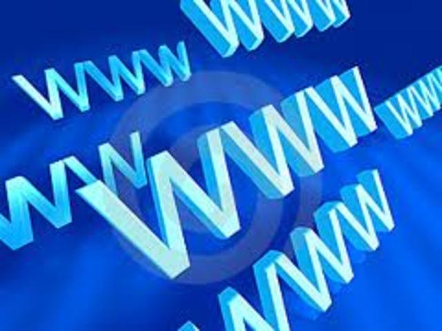 World Wide Web (WWW.)