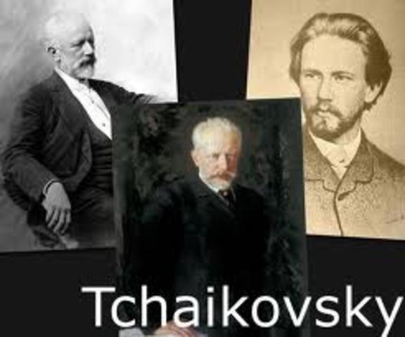 Tchaikovsky goes to Music School