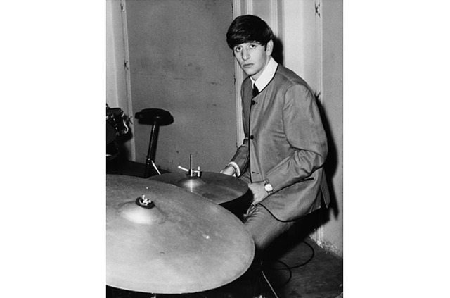 Ringo Starr joins the Beatles