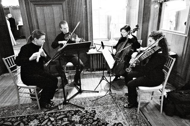 I write my String Quartet