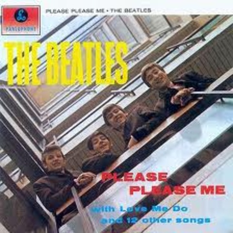 Please Please Me is realeased in UK
