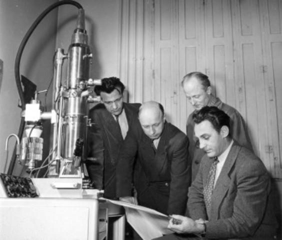 tranmission electric microscope