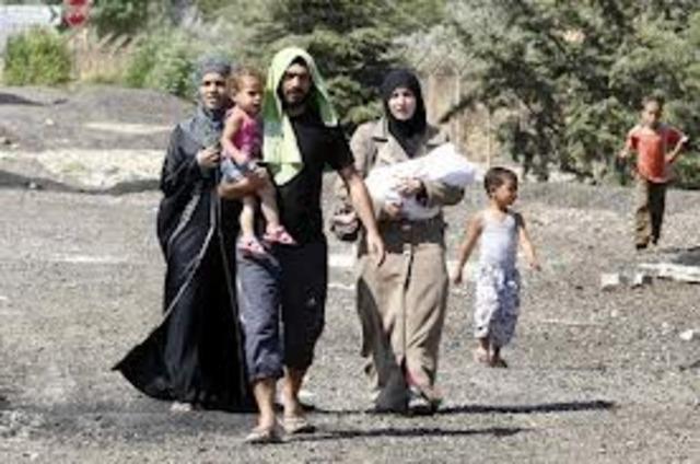 Refugees Flee Syria