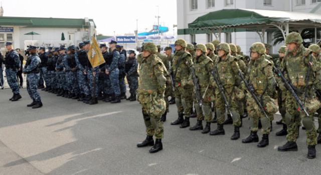 US and Japan begon military drills
