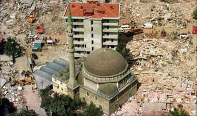Earthquake Hits Turkey Hard
