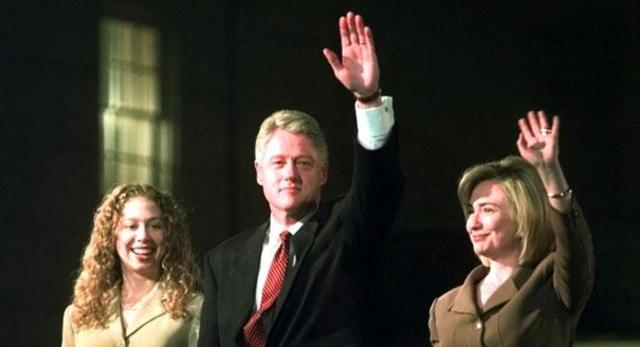 1996: Clinton, Gore, and Dole win home states