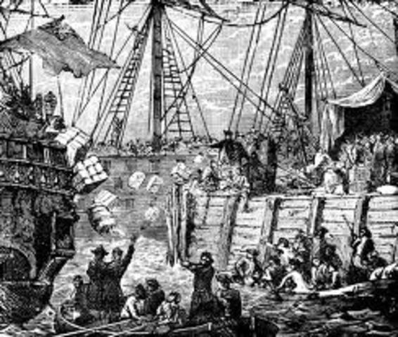 Tea Act/ Boston Tea Party