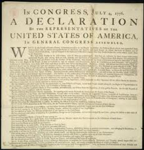Declaration of Independace