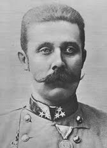 The Assasination of Archduke Franz Ferdinand