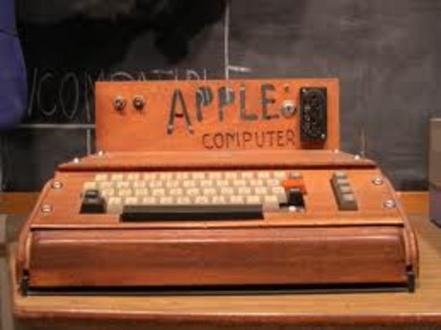 Steve Jobs makes a computer.