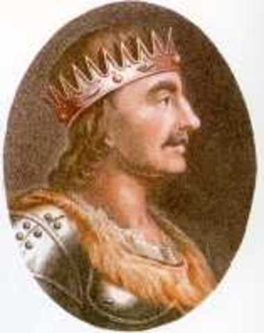 The first king of England
