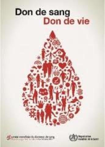 Journée Mondiale de Don du Sang