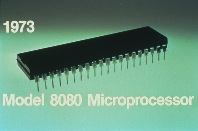The Intel 8080 processor is Introduced