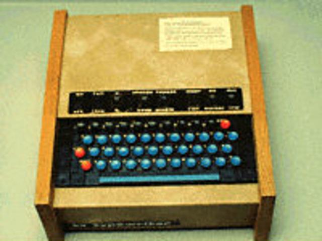 The TV typewriter