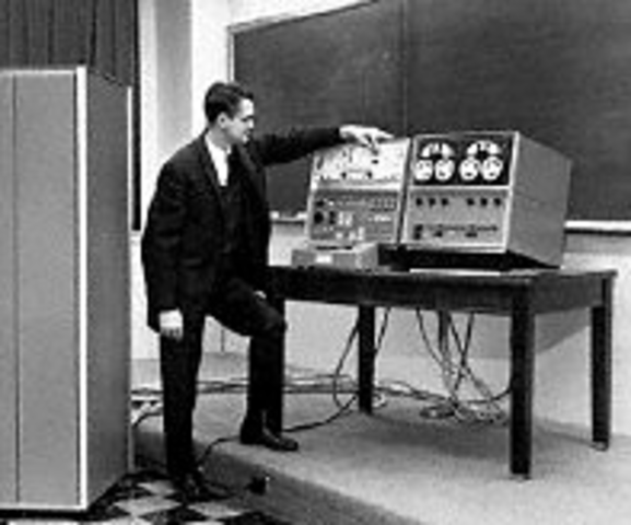 The LINC (Laboratory Instrumentation Computer) offered the first real time laboratory data processing.