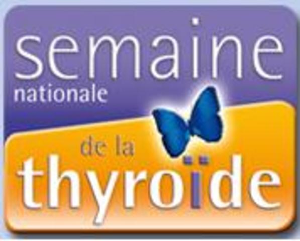 Semaine nationale de la Thyroïde