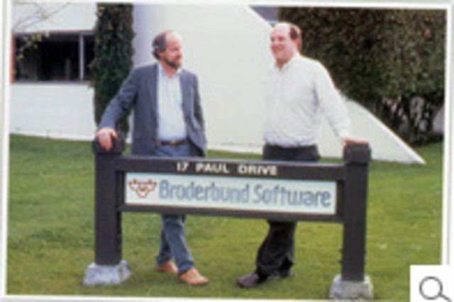 broderbund is founded