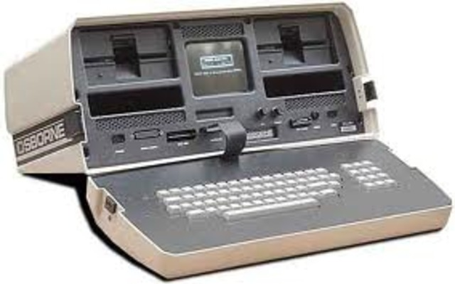 Altair produces the first portable computer.