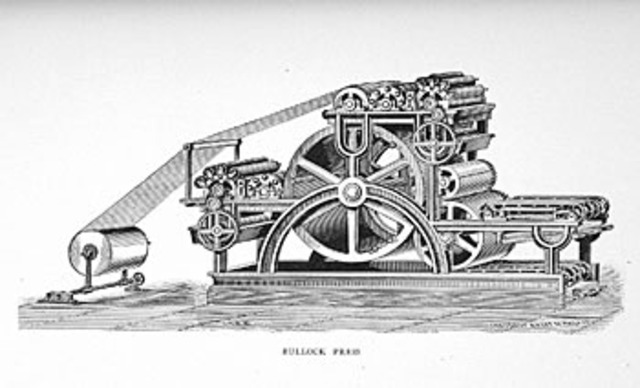 Rotary Printing Press