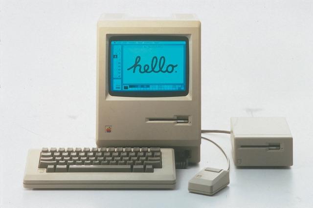 Ordenador Macintosh.
