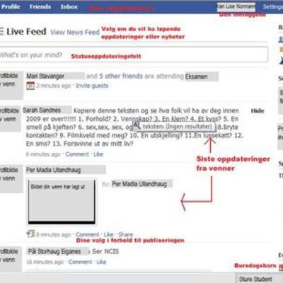 Facebooks korte liv timeline