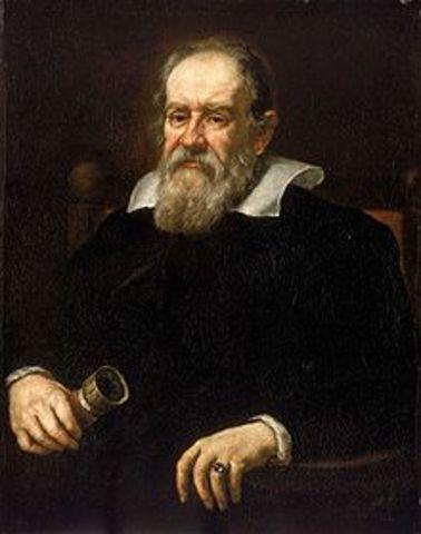 Galileo Discovers the pendulum principle