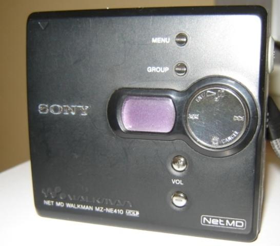 Reproductor portatil minidisc