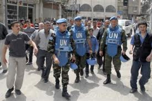 UN Forces withdraw