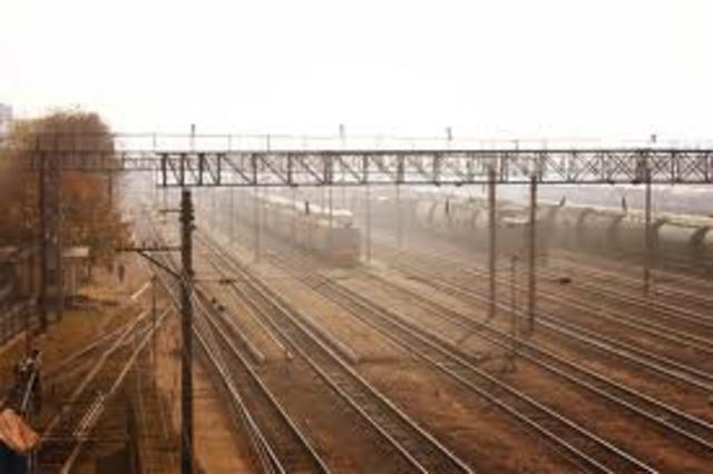 Появление железнодорожного узла.